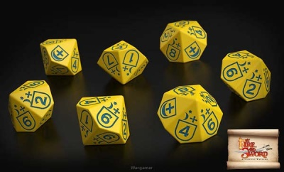 Cossack dice (10)