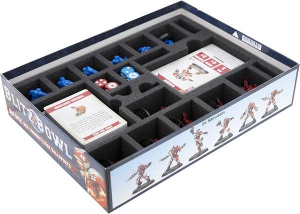 Schaumstoff-Set für Blitz Bowl: Season 2 - Spielbox
