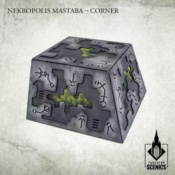 Nekropolis Mastaba - Corner