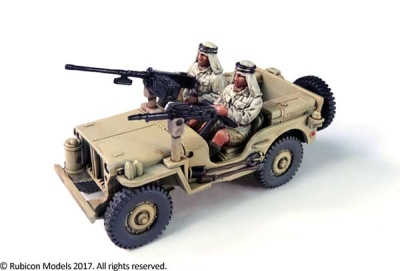 Willys MB ¼ ton 4x4 Truck (Commonwealth) (1/56)
