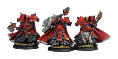 Khador Great Bears of Gallowswood Character Unit