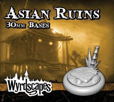 Wyrdscapes - Asian Ruins 30mm Base (5)
