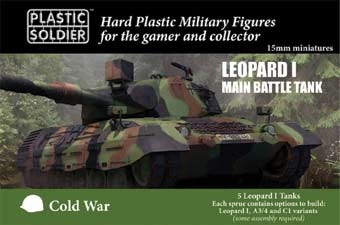 15mm Modern Cold War Leopard 1 (5)