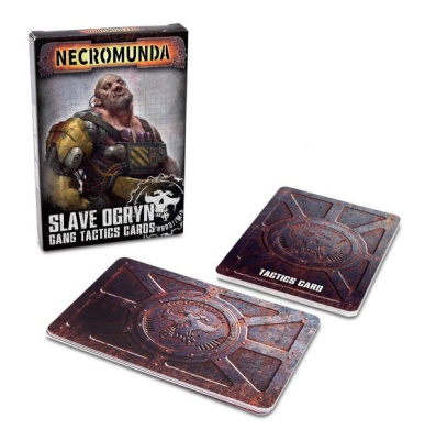 Necromunda: Slave Ogryn Tactic Cards