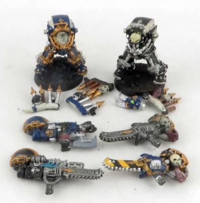 WH40K: Chaosterminatoren ZINN (2)