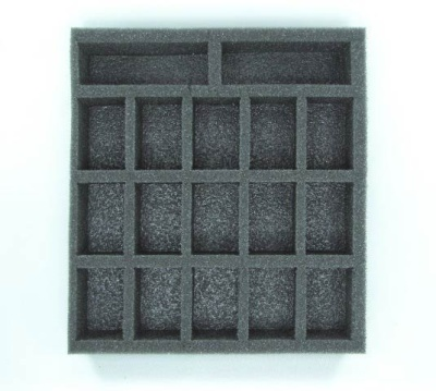 Warma/Hordes Small Troop Half Foam Tray 1.5
