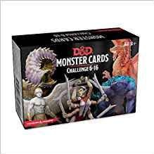 D&D: Monster Cards Challenge 6-16 (74 Cards)