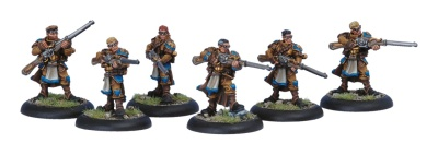 Long Gunners Infantry Unit Box (10)