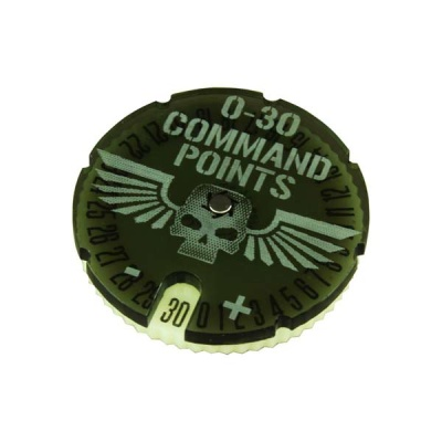 WHv8: Command Points Dial, 0-30 (1)