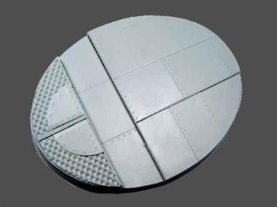 Beveled Edge 95x120mm Iron Deck Base (1)