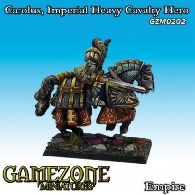 Carolus, berittener Held