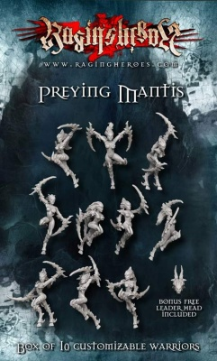 Preying Mantis Unit Box (10) OOP
