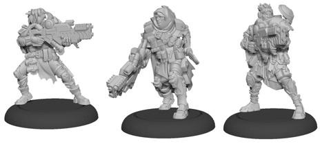 Ranger Fire Team - Warcaster Marcher Worlds Squad