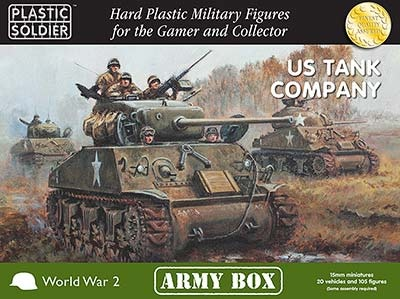 15mm: US Tank Company Box