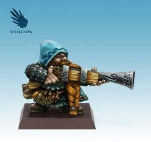 Dwarf with big Gun