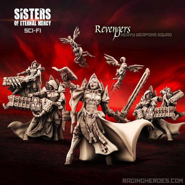 Revengers, Heavy Weapons Squad (5) (SoEM - SF)