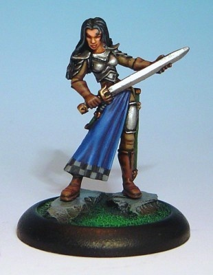 Monique - Female Paladin