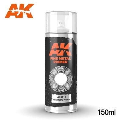AK Fine Metal Primer Spray