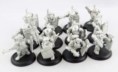 WARMACHINE: Hammerfall High Shield Gun Corps + Atta