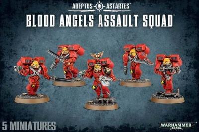 Blood Angels Assault Squad