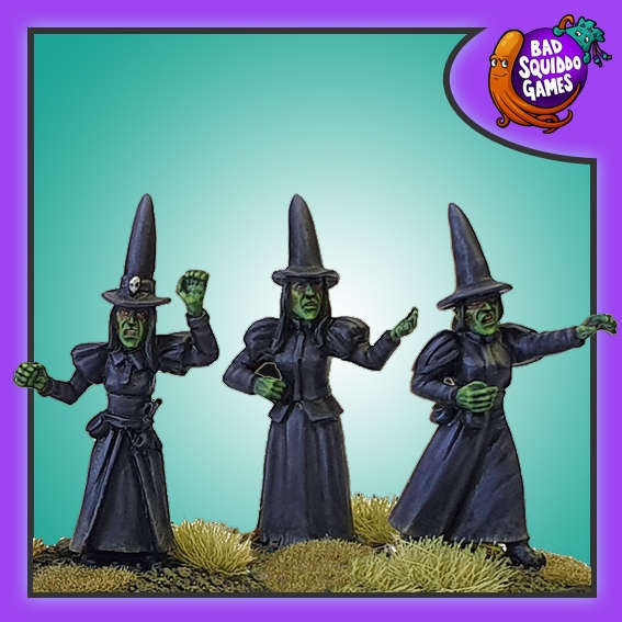 Angry Witches