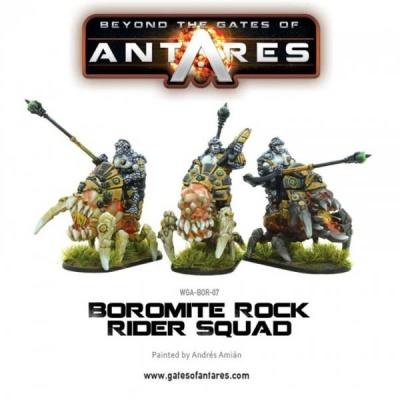 Boromite Rock Rider squad (3)