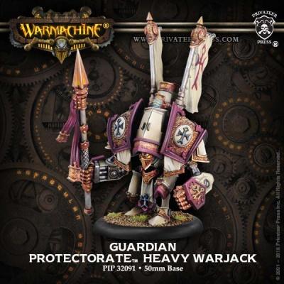 Protectorate Heavy Warjack Guardian / Indictor (plastic)
