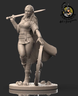 Lagerta, the Shieldmaiden