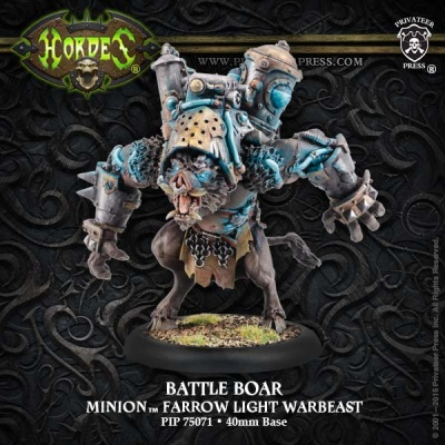 Minion Farrow Light Warbeast Battle Boar
