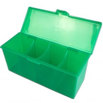 Blackfire 4-Compartment Storage Box - Green