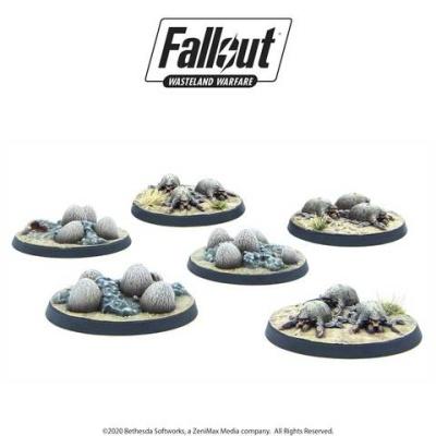 Fallout: Wasteland Creatures: Mirelurk Hatchlings + Eggs