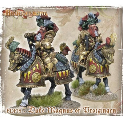 Duke Magnus of Protzingen (mounted) (1)