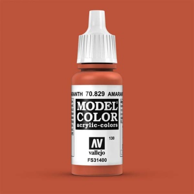 Model Color 130 Rotorange (Amarantha Red) (829)