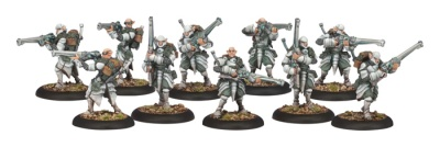 Retribution Houseguard Riflemen Unit (10 Models)(OOP)