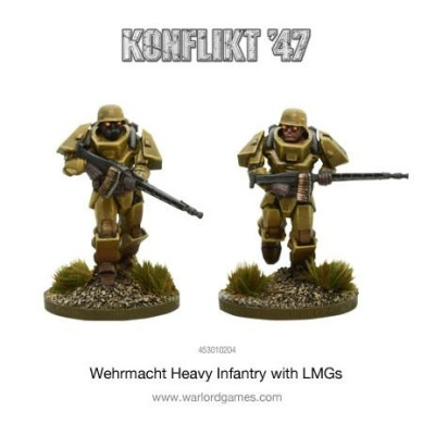 German Heavy Infantry with LMGs (2)