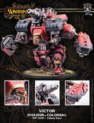 Khadoran Colossal Warjack Conquest/Victor (plastic)