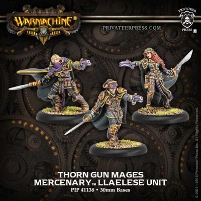 Mercenary Thorn Gun Mages