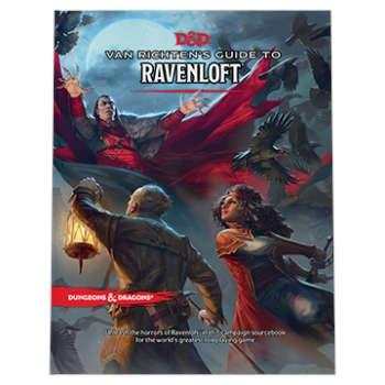 D&D Van Richten's Guide to Ravenloft HC - EN