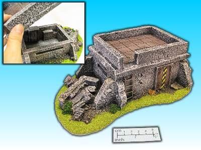 Geländestück HQ Bunker