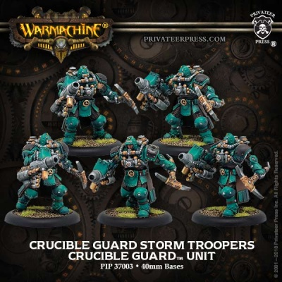 Golden Crucible Guard Storm Troopers (5)