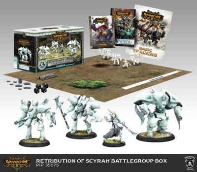 Retribution of Scyrah Battlegroup Starter Box (plastic)