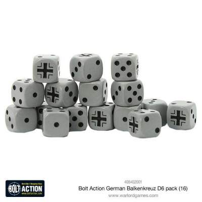 Bolt Action German Balkenkreuz D6 pack