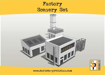 Factory Scenery Set