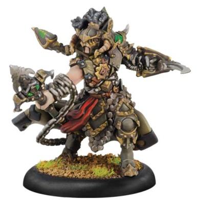 Cryx Warcaster Captain Aiakos