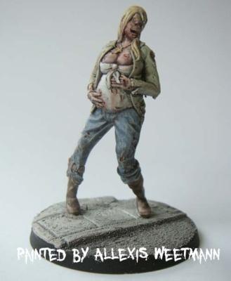Zombie - Schwangere Frau