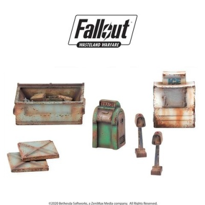 Fallout: Terrain Expansion: Boston Street Scatter