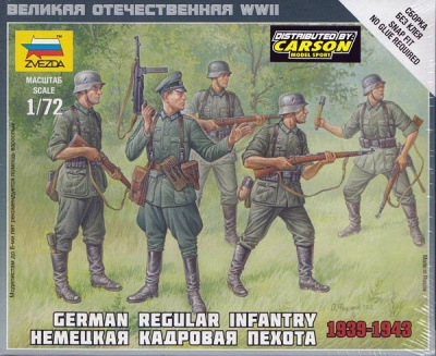 1:72 German Regular Infantry 1939-43