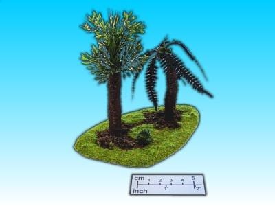 Geländestück 2 Palmen