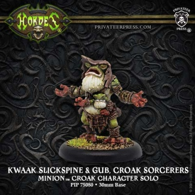 Minion Kwaak Slickspine & Gub, Croak Sorcerers Solos