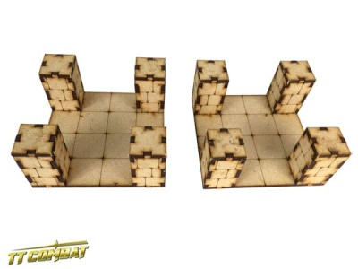 Dungeon Crossroad Sections (2)